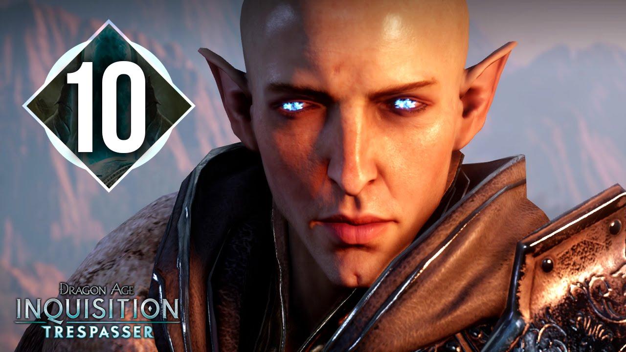 dragon age inquisition trespasser how to start