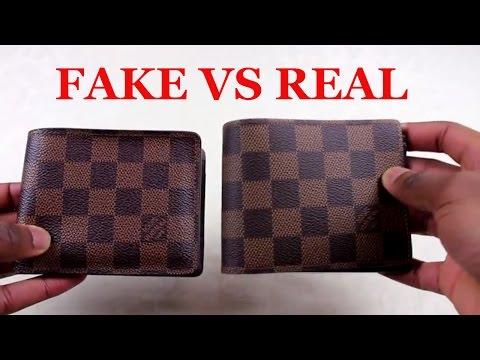 76db433413 How To Spot a Replica Louis Vuitton Wallet