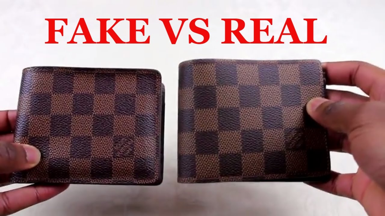 How To Spot a Replica Louis Vuitton Wallet  22c5a058e2f05