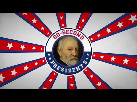 Benjamin Harrison | 60-Second Presidents | PBS