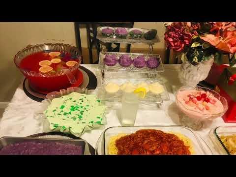 Celebrating New Year 2019.All Filipino Food 🥘.