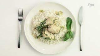 Курица в белом вине в тайском стиле. Мастер-класс Алексея Зимина