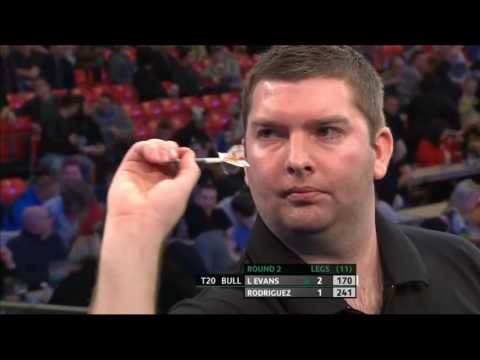 ᴴᴰ Rowby John Rodriguez vs Lee Evans | 2016 UK Open PDC Darts Round 2