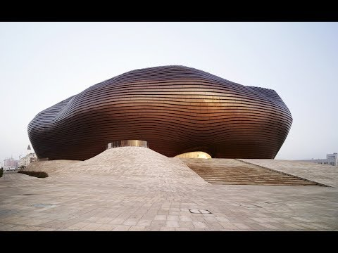 Ordos Art & City Museum | MAD Architects | Inner Mongolia, China | HD