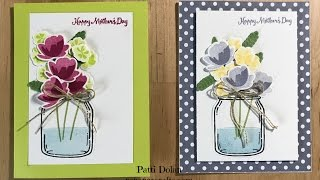 Beautiful Mother's Day Cards using the Jar of Love Bundle