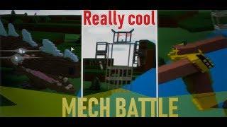 🏆MECH BATTLE! (Croc v. Robot v. Warrior)🏆| Roblox Build a Boat for Treasure