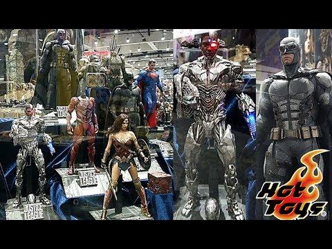 SDCC2017 Reveals/Thoughts: Hot Toys Justice League (Batman, Flash, Cyborg, Aquaman)