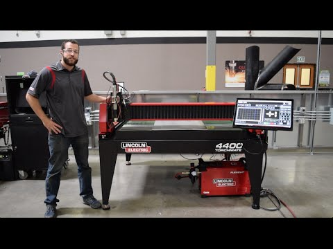 Introducing The Lincoln Electric Torchmate 4400 Youtube