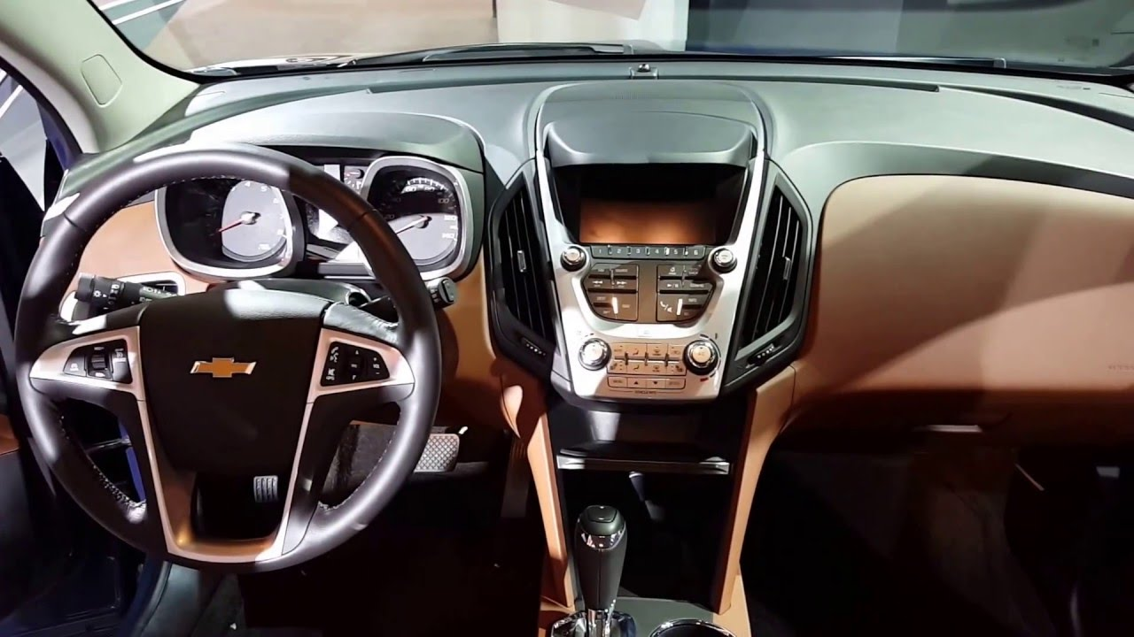 2016 Chevrolet Equinox Ltz Interior Walkaround Chicago Auto Show
