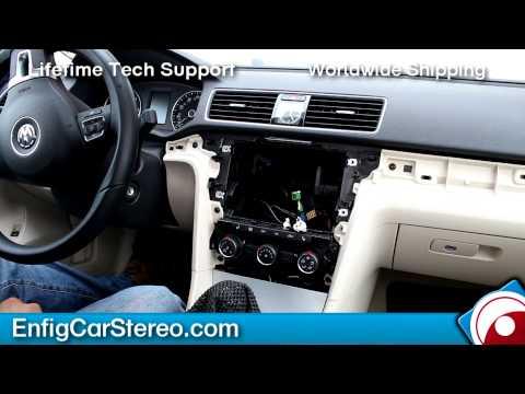 Radio Installation Volkswagen Passat 2012-2013