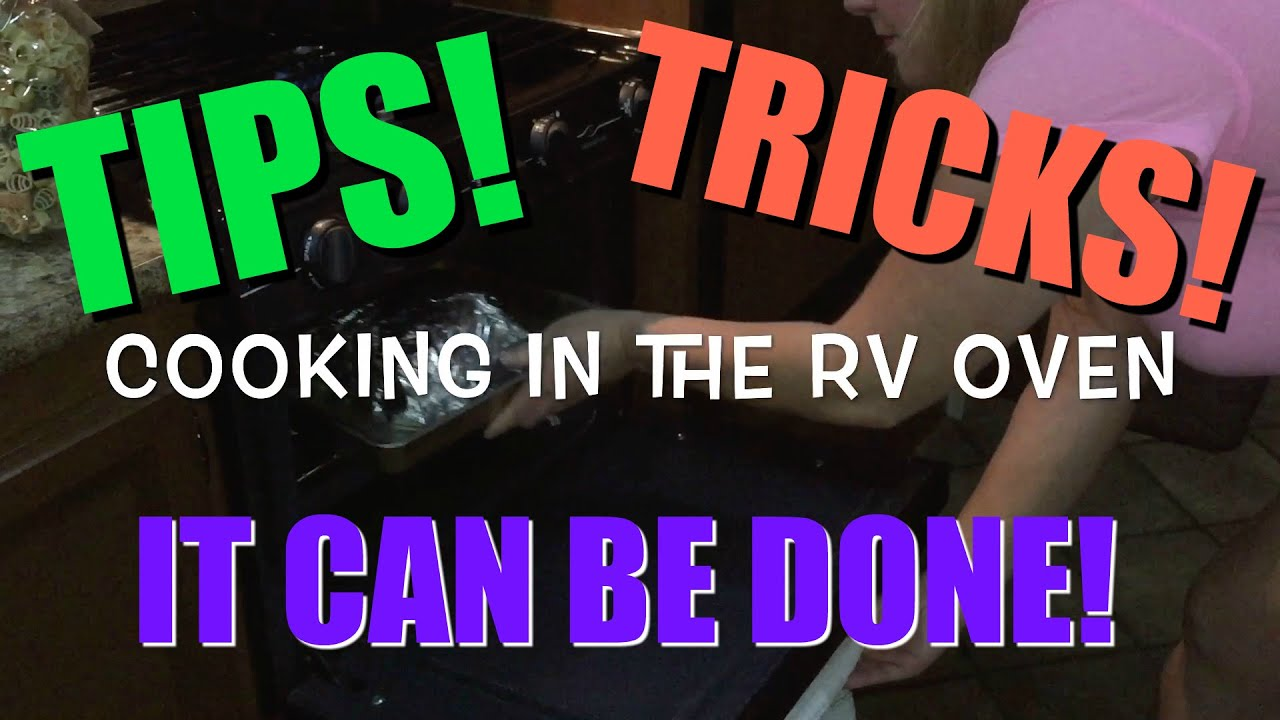 Cooking in the RV Oven!