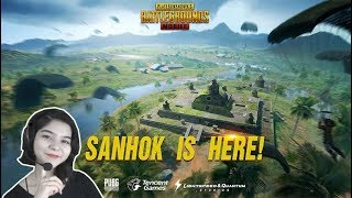 PUBG MOBILE 6 FLARE GUNS NEW UPDATE SANHOK MAP | TENCENT GAMING BUDDY