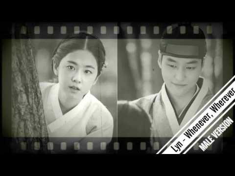 LYn (린) - 언제든, 어디라도 (Whenever, Wherever) Saimdang Light's Diary OST [MALE VERSION] Mp3