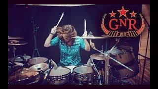Miloš Meier - Guns N' Roses drum cover - Shackler's Revenge