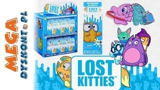 Lost Kitties  Brokatowy kotek  Duże mleko z niespodziankami