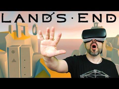 Lands End VR Gameplay - Samsung Galaxy Gear VR Gameplay w Facecam