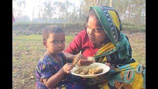 Duck curry recipe prepared in village   Delicious village food