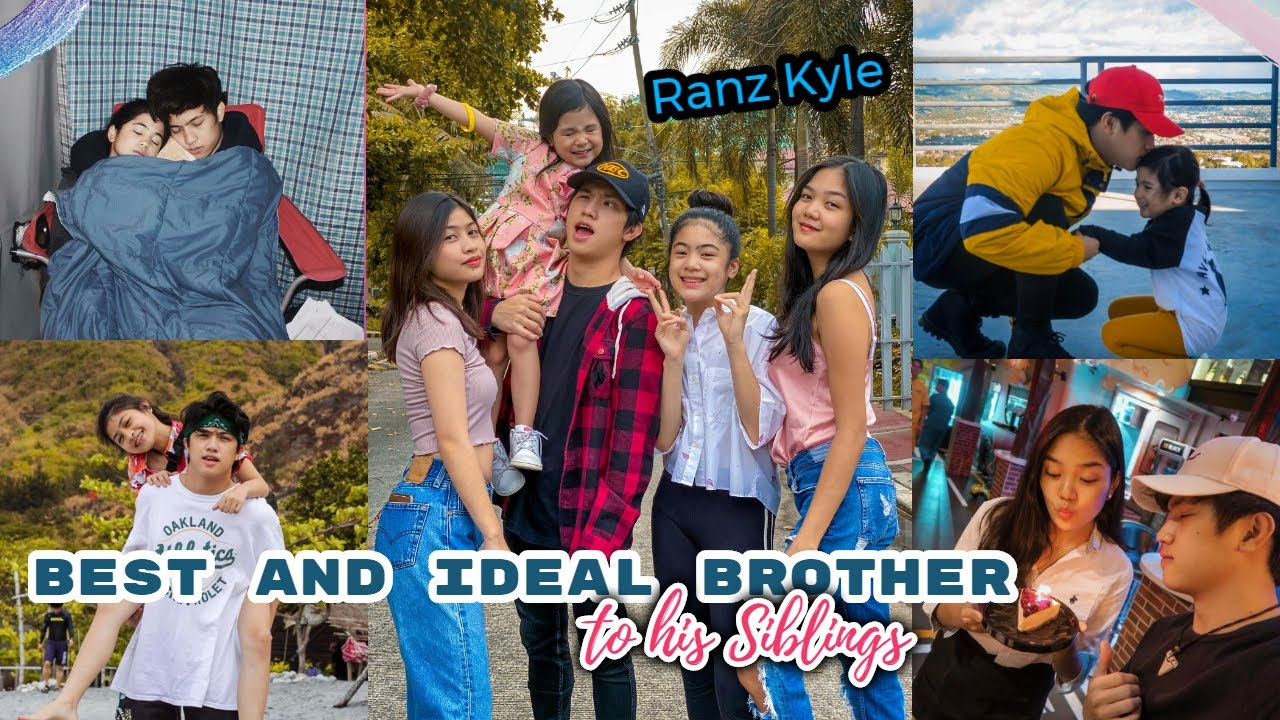 Ranz Kyle Being the Ideal and Best Brother to His Siblings! (Niana, Natalia,Nina Guerrero, Chelseah)