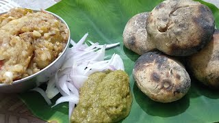 Quick Baati Chokha Recipe