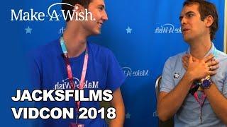 Jacksfilms with Make-A-Wish at VidCon 2018! | Make-A-Wish®