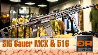 SIG Sauer MCX Carbine и SIG Sauer 516 Patrol Обзор Винтовок от Guns-Review.com