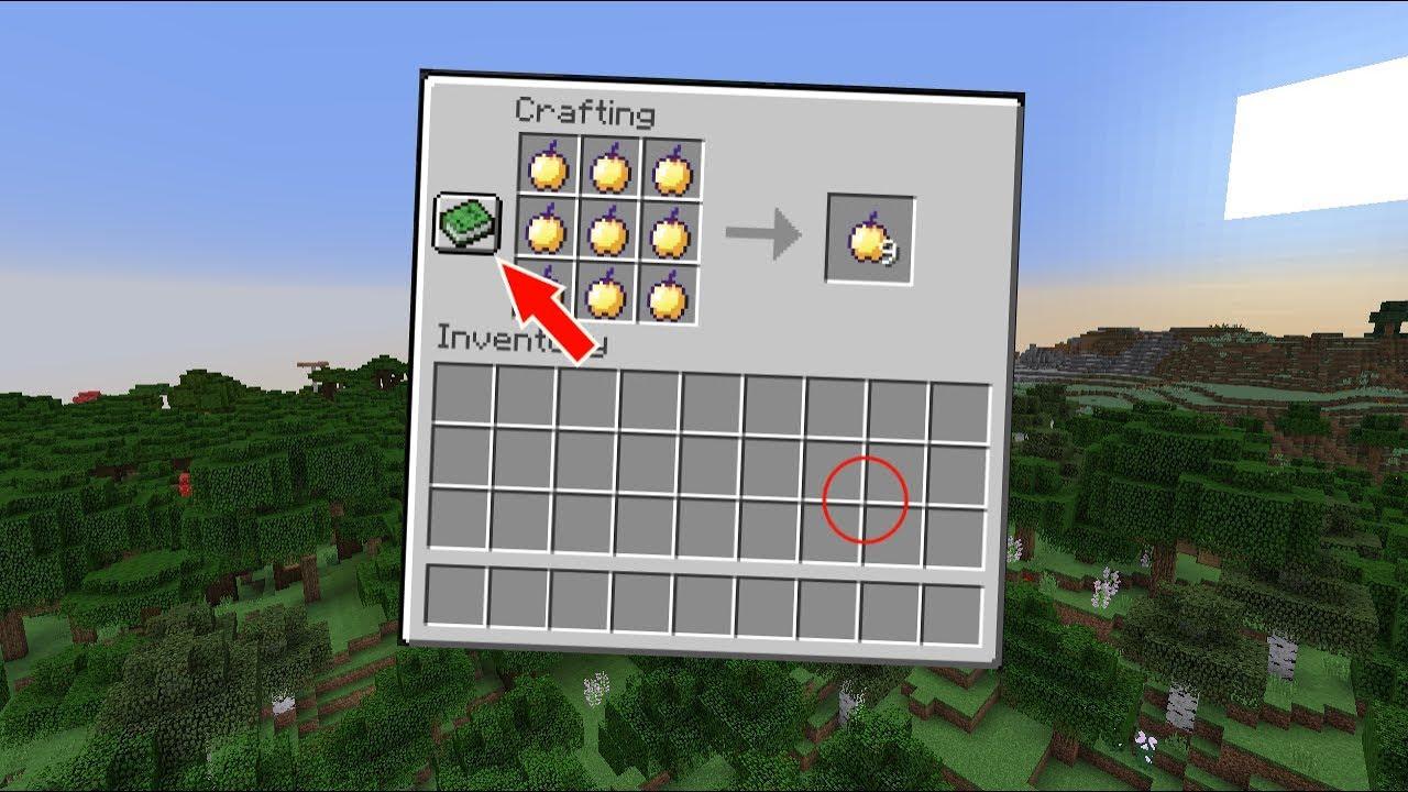 как сделать яблоко нотча в майнкрафт #6