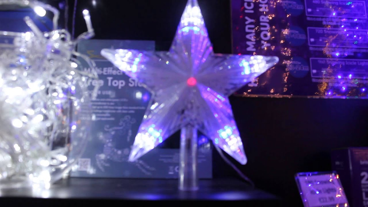 How to make a 3d star christmas decoration - Led Lit Digital Christmas Star Tree Topper