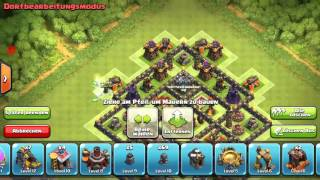 Clash of Clans RH10 TH10 Tophy/CW/Clan War Base Anti 2Star ANTI ALL BASE! 275 WALLS! 275 Mauern