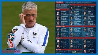 Équipe de France : Didier Deschamps garde sa liste des 23 joueurs pour le Mondial 2018