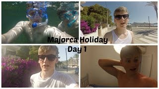 Day 1 - GoPro Snorkeling | Majorca Holiday