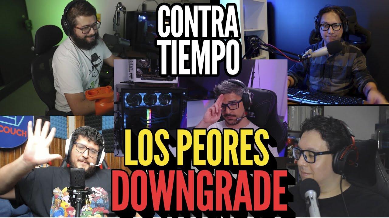 """CONTRATIEMPO #24 """"Los Peores Downgrade l Xbox Series S I El Primer Juego que te Voló la Cabeza"""""""