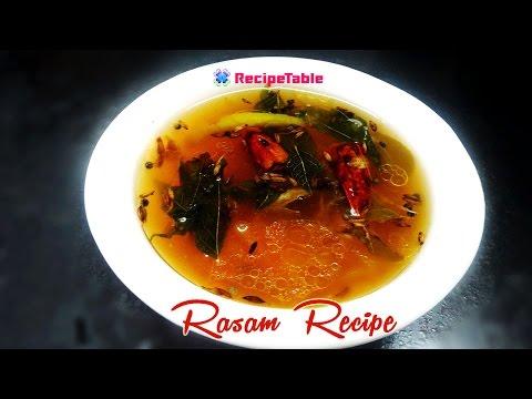 Chintapandu Charu or Tamarind Rasam Preparation - Telugu Vantalu
