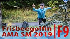 Frisbeegolfin AMA SM Final RD   F9 Kärkikortti