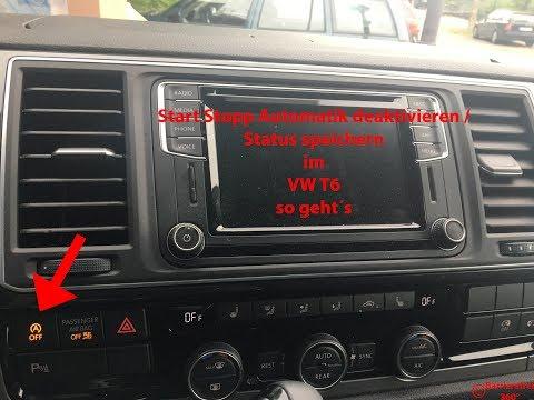 Start Stopp Automatik deaktivieren Status speichern im VW T6 SSAM Memory Modul