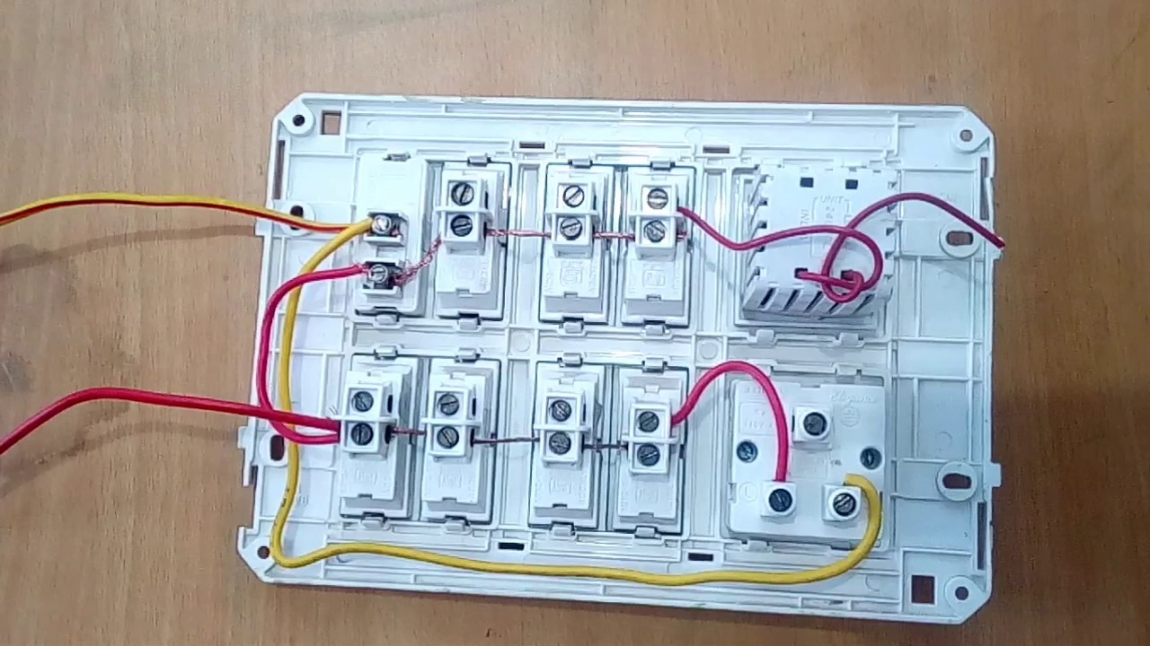 Inverter Wiring In Board Yk Electrical Youtube