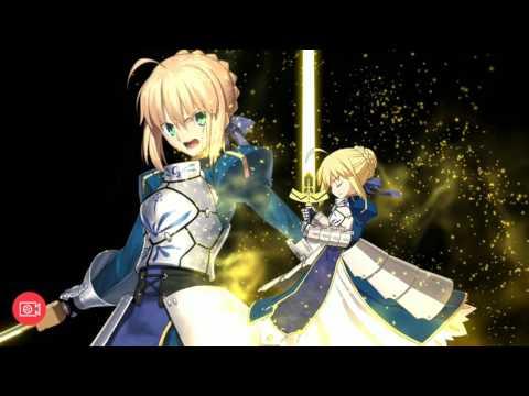 Fate Grand Order :Artoria Pendragon VS Arthur Pendragon  (Noble Phantasm )