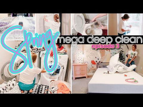 SPRINGTIME MEGA DEEP CLEAN WITH ME! 🌸 | INSANELY THOROUGH TOP TO BOTTOM EXTREME CLEANING MOTIVATION - Joanna Thornton