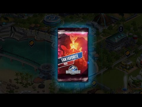 Jurassic World The Game - Fan Favourite Pack, T-Rex Challenge