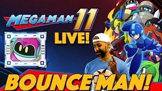 Mega Man 11 Live: Bounce Man, Fuse Man, Acid Man!