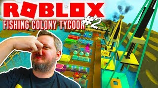 WE DID IT! -Roblox Fishing Colony Tycoon Ep 2 Dansk