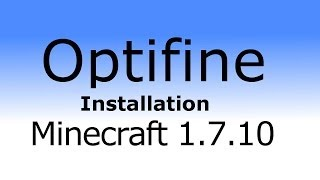 [GER] Optifine Minecraft [1.7.10] Installation Tutorial Deutsch ★ Download Mac & Windows Wie Zoomen?