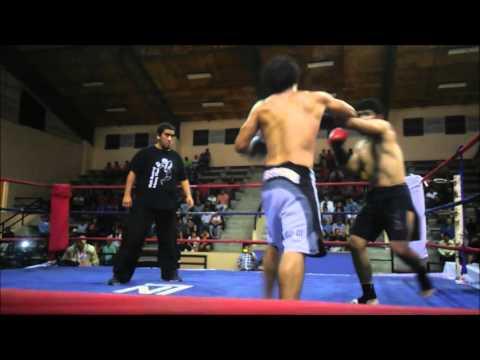 Combate Alvaro Utrobicic Vs Natan Ortiz  Por El Titulo AMB De Kickboxing