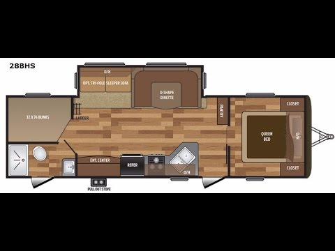 2017-keystone-hideout-28bhs---great-family-floorplan!-central-vac---electric-awning-&-more!