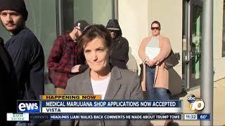 Vista now taking new medical marijuana shop applications