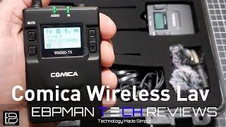 Comica CVM-WM300 Wireless Lav Review