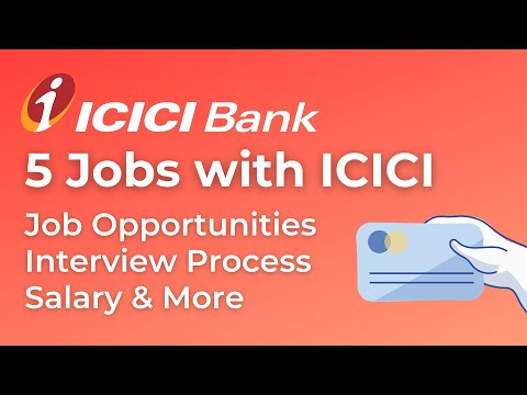Private bank jobs 2020 | 5 ICICI bank job for freshers