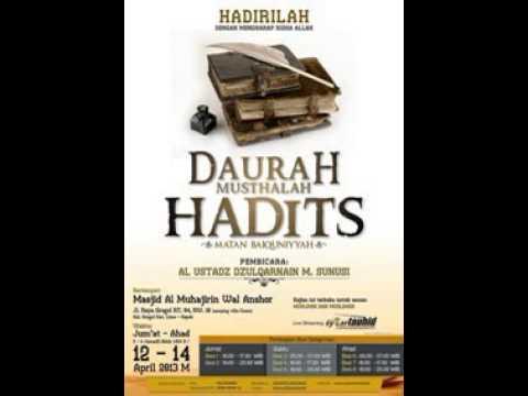MUSTHALAH HADITS PDF