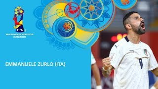 Zurlo v Switzerland [GOAL OF THE TOURNAMENT] - FIFA Beach Soccer World Cup, Paraguay 2019