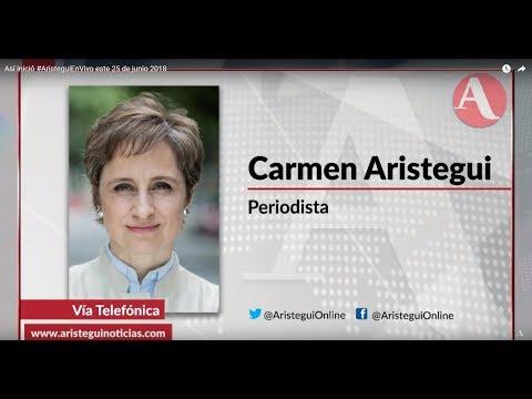 Así inició #AristeguiEnVivo este 25 de junio 2018