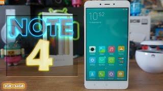 La review completa de lo nuevo de Xiaomi, el NOTE 4 con MIUI 8 | 3GB+64GB